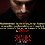 BLOG TOUR: Shades by Jaime Reese