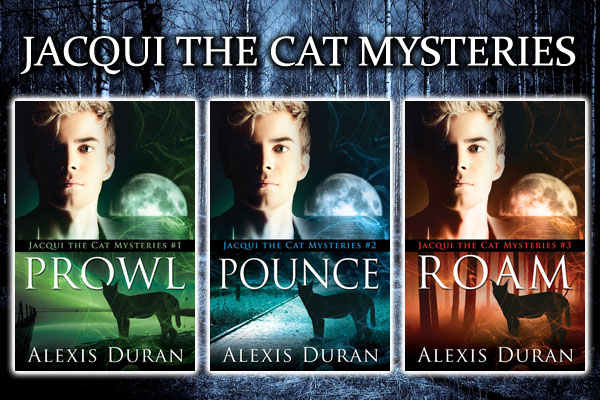 SERIES REVIEW: Jacqui the Cat Mysteries by Alexis Duran