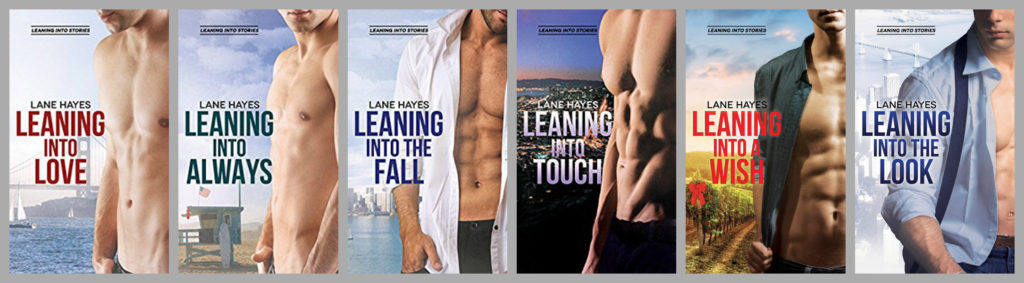 Leaning Into Series by Lane Hayes