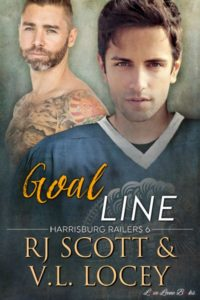 Buy Goal Line by RJ Scott and V.L. Locey on Amazon Universal