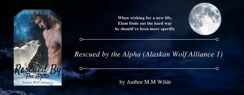 NEW RELEASE: Rescued by the Alpha by M.M. Wilde