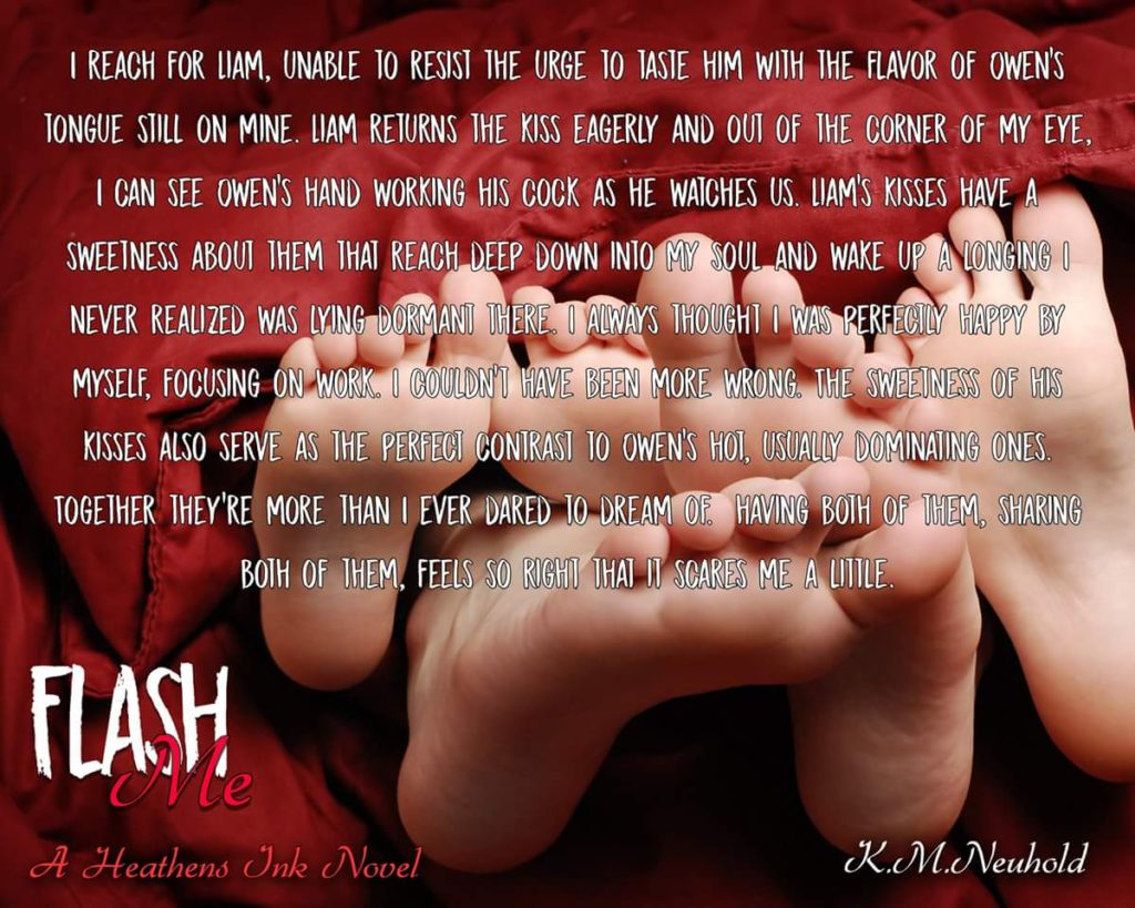 DUELING REVIEWS: Flash Me by K.M. Neuhold