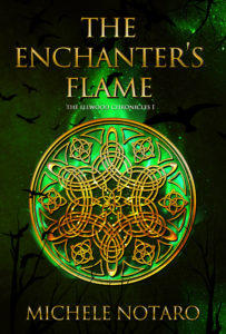 Get The Enchanter's Flame by Michele Notaro on Amazon & Kindle Unlimited