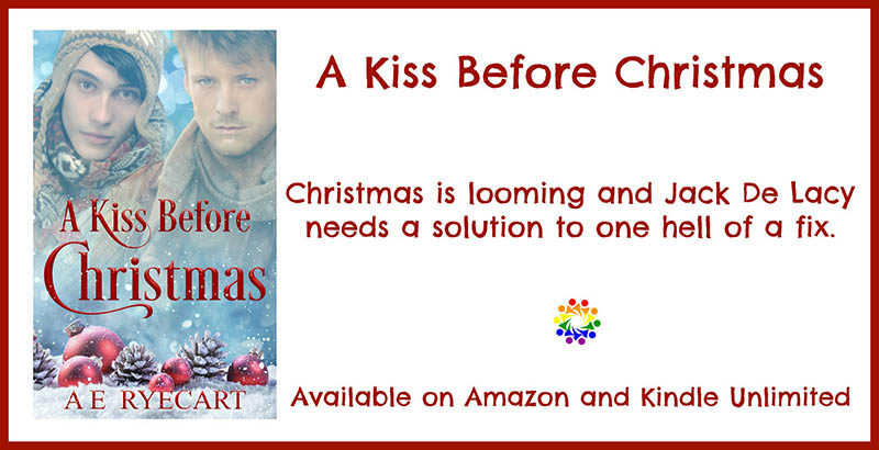 A Kiss Before Christmas by AE Ryecart