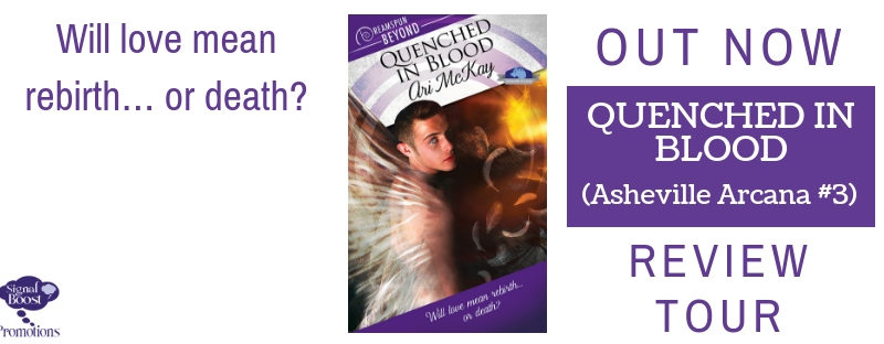 DUELING REVIEWS: Quenched in Blood by Ari Mckay