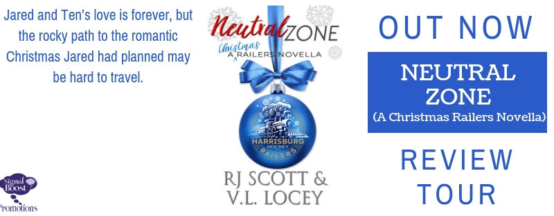 DUELING REVIEWS: Neutral Zone: A Christmas Railers Novella by R.J. Scott & V.L. Locey